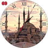 Jual 69 Jam Dinding Art Mdf Hiasan Ruang Motif Masjid Istambul Ori