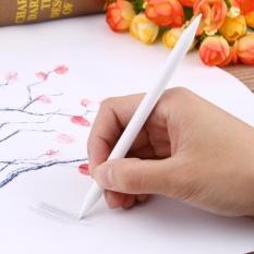 6 Pcs Double Head Kertas Sketsa Arang Kertas Sketsa Menggambar Putih Pena-Internasional