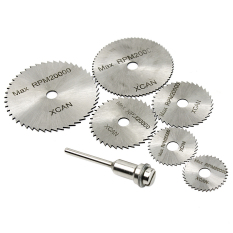 6 Pcs Kecepatan Tinggi Baja Hss Rotary Tool Mini Saw Blade Cutting Set 1 Mandrel Intl Oem Diskon 40