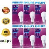 6Pcs Lampu Bohlam Led Philips 19W Watt 160Watt Putih Original