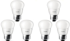 6pcs Lampu Bohlam LED Philips 3w/watt - 25watt Putih