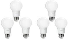 Jual Cepat 6Pcs Lampu Bohlam Led Philips 6 5W Watt 7W Watt 60Watt Putih