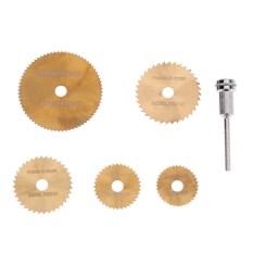 Jual 6Pcs Set Mini Tool Circular Saw Blades Untuk Metal Rotary Cutter Powe Vakind Asli