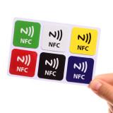Diskon 6X Ntag216 Chip 888 Bytse Dapat Ditulisi Programmable Nfc Smart Tag Untuk Smart Phone Baru Intl Branded
