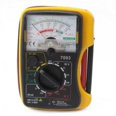 7003 Analog AC DC Multimeter (Kuning)-Intl