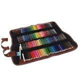Iklan 72 Art Pensil Warna Dengan Portable Pensil Kanvas Wrap Pouch Untuk Buku Mewarnai Dewasa Menggambar Menulis Sketsa Keriput Intl