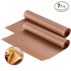 7 Pcs 16*24 Inci Panggang Alas, Tahan Suhu Tinggi Lembar Teflon Tahan Panas Alas, non-stick, untuk Luar Ruangan BBQ-Internasional