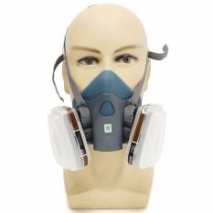 Toko 7 Buah Silikon Comfort Setelan Alat Pernafasan Lukisan Menyemprot Wajah Masker Gas Fr 7502 Internasional Murah Di Tiongkok