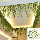 Review Tentang 8 2 Kaki Gantung Buatan Ivy Leaf Daun Tanaman Vine Fake Dedaunan Pesta