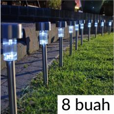 8 BUAH Lampu Taman Tenaga Surya LED Tanpa Listrik Tanpa Kabel