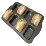 Beli 8 Cup Non Stick Mini Loaf Brownie Baking Pan Peralatan Dapur Intl None