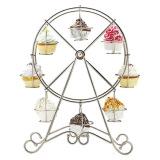 Promo 8 Cups Cupcake Ferris Wheel Holder
