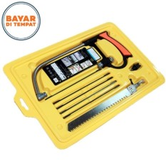 8 in 1 Magic Saw Multi Purpose Hand Saw Metal Wood Saw Kit 6 Blades