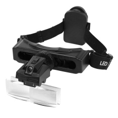 Cara Beli 8 Lensa Loop Ikat Kepala Kaca Pembesar Perhatikan Perbaikan Perhiasan Membawa Kaca Pembesar