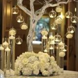 Harga 8 Pcs Lot 80Mm Hanging Tealight Holder Bola Kaca Terarium Pernikahan Candle Holder Candlestick Intl Dan Spesifikasinya