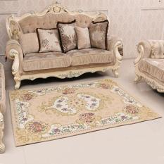 80*120 Cm Jacquard Rectangle Floor Mat Sofa Tikar Bantalan Anti Slip Lorong Karpet Karpet untuk Kamar Tidur Dekorasi Ruang Tamu