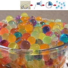 8000 Pcs Water Beads, Crystal Water Bead Gel [Rainbow Mix] untuk Pengalaman Sensitif Taktis Anak-anak, Orbeez Refill, Vacuum Vacuum Center Center, Tanah, Tanaman Hiasan-Internasional