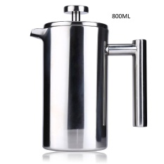 Promo 800Ml Stainless Steel Cafetiere French Press With Filter Double Wall Intl China Oem