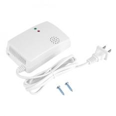 85db Kebocoran Gas Alam Alarm Peringatan Sensor Detector Home Keamanan Alat dengan Lampu Indikator-Intl