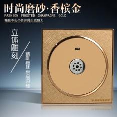 86 Tipe Champagne Golden Koridor Tunda Induksi Mengaktifkan Lampu Hemat Energi Baris Kedua Acousto-optik Control Switch LED Suara Controlled Switch-Intl