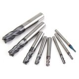 Review Toko 8 Pcs 2 12Mm Karbida Akhir Mill 4 Flute Tungsten Steel Milling Cutter Cnc Alat Set