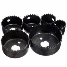 Toko 8 Pcs Kayu Paduan Besi Cutter Bimetal Lubang Bor Gergaji Mata Gergaji Kit W Hex Wrench Black Intl Oem Online