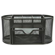 Jual 9 Grid Metal Mesh Desk Organizer Storage Black Intl Antik