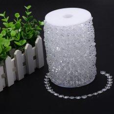 Diskon 3017 52 Cm Garland Diamond Tirai Manik Kristal Akrilik Dibetulkan Dekorasi Pesta Pernikahan Intl Not Specified Di Tiongkok