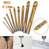 Harga 9Pcs Set Titanium Hss Drill Saw Bit Set Cutting Carpenter Wood Metal Of 3 13Mm Intl Yg Bagus