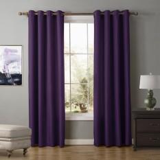 Harga Ankle Engkel Weighted Bands Pasir 2 Buah Warna Solid Tirai Jendela For Kamar Of Sleep And Ruang Tamu 140 Cm X 220 Cm Internasional Yang Murah Dan Bagus
