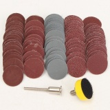 Model Abrasive 1 Loop Hook Backer Plate 1 8 Inch Shank 100 Pcs Kertas Pasir Mixed Set Intl Terbaru