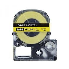 Absonik Penggantian Kaset Tape untuk EPSON LW-300 LW-400 LW-600P LW-700 LC-4YBW9 (1/2