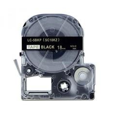 Absonik Penggantian Kaset Tape untuk EPSON LW-300 LW-400 LW-600P LW-700 LW-900P LW-1000P LC-5BKP9 (3/4