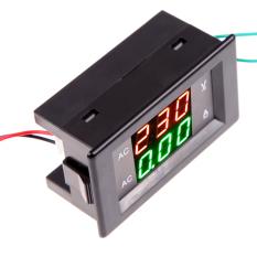 Jual Ammeter Digital Pengukur Tegangan Volt Ac Panel Lcd Volt Meter Amplifier 100 Amp 300 V Hitam Antik
