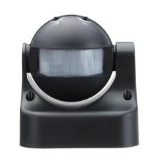 AC110V-240V Outdoor Tubuh Manusia Sensor Gerak Detektor Inframerah Tombol Hitam-Internasional