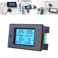 AC80 260V 100A Digital LED Current Voltage Energi Aktif Deteksi Penguji Pengukur Amper .