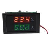 Ac 80 300 V 100 Amp Pameran Memimpin Panel Digital Pengukur Tegangan Volt Pengukur Amper Volt Amplifier Hitam Murah