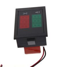 Beli Ac 80 300 V 50 Amp Voltmeter Digital Pengukur Amper Volt Amplifier Tampilan Panel Hitam Oem Dengan Harga Terjangkau