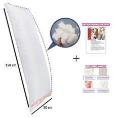 Jual Acepunch Baru Putih Dakimakura Memeluk Tubuh 150X50 Cm Inner Bantal Intl Satu Set