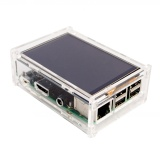 Toko Acrylic Case Compatible For Raspberry Pi 2 Pi3 Model B Original 3 5 Lcd Tft Touch Screen Display Intl Di Tiongkok