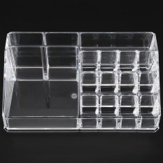 Toko Acrylic Cosmetic Organizer Make Up Storage Holder Kotak Lipstik Display Stand Intl Not Specified