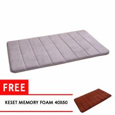 Harga Adda Home Keset Karpet Memory Foam Super Soft Comfort 40X60 Murah