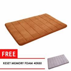 Toko Adda Home Keset Karpet Memory Foam Super Soft Comfort 40X60 Lengkap