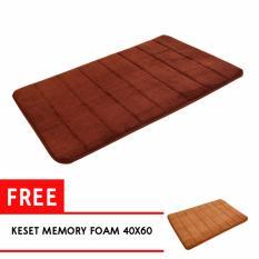 Adda Home Keset Karpet Memory Foam Super Soft Comfort 40X60 Vintage Story Murah Di Banten