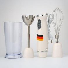 IKLAN Praktis Berkualitas Tinggi Hot Jual 2 Kecepatan Tangan Plastik Memotong Makanan Kacang Chese Daging Yang Dimasak Mixer Blender-Intl