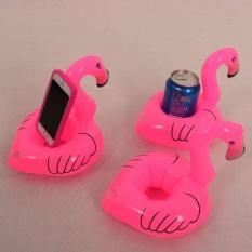 IKLAN Praktis Berkualitas Tinggi Hot Jual Cute Inflatable Flamingo Minuman Bisa Menyewa Floating Kolam Renang Pantai Pesta Mainan-Internasional