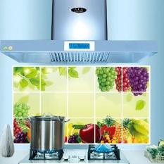 IKLAN Wall Decals Sticker Dapur Minyak Pemeriksaan Dekorasi Rumah Buah Mudah Dicuci-Intl