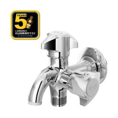 Review Aer Kran Double Keran Air Kuningan Brass Double Faucet D 33B Aer