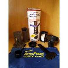 Harga Aerobie Aeropress Coffee Maker With Totebag Original Made In Usa Aeropress Terbaik
