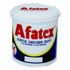 Afatex Cat Lantai Acrylic Emulsion Floor Paint 1 Galon - 4 Kg - Hitam - Black GB 017
